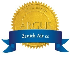 Zenith Air cc Gold Custom Logo small a